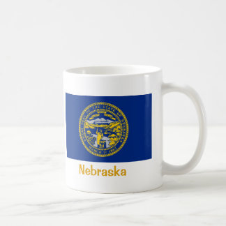 Nebraska State Flag Coffee Mug