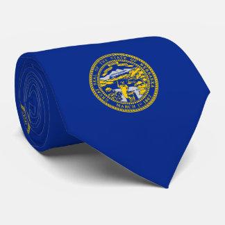 Nebraska State Flag Design Tie