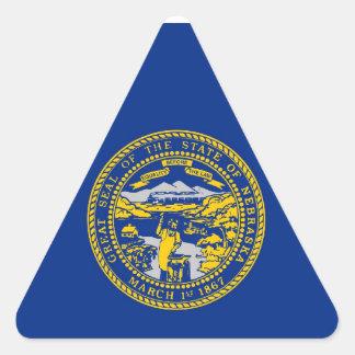 Nebraska State Flag Sticker