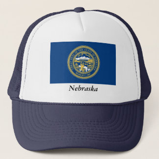 Nebraska State Flag Trucker Hat
