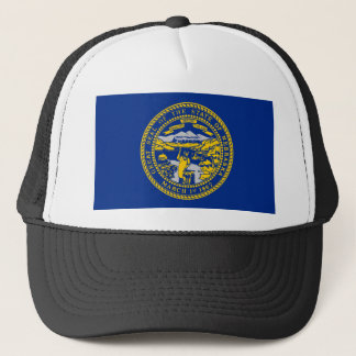 nebraska state flag united america republic symbol trucker hat