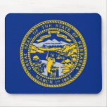 Nebraska State Seal Mouse Pads