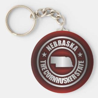"""""""Nebraska Steel 2"""" Keychains"""