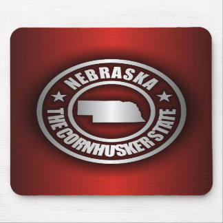 """Nebraska Steel 2"" Mousepad"