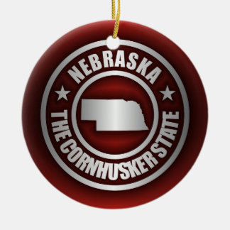 """Nebraska Steel 2"" Ornaments"