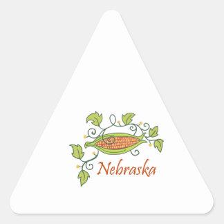 NEBRASKA TRIANGLE STICKERS