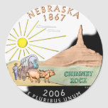 Nebraska Sticker