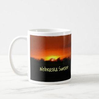 Nebraska Sunset Coffee Mug