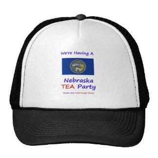 Nebraska TEA Party - We re Taxed Enough Already Hats