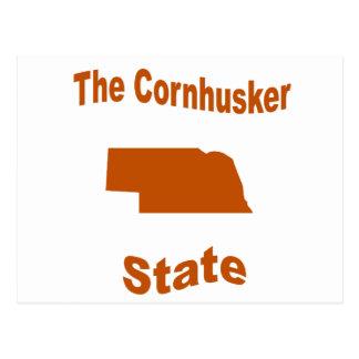 Nebraska The Cornhusker State Post Card