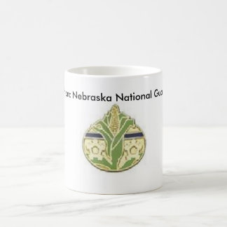 Nebraska Unit Patch,  Starc Nebraska National G... Basic White Mug