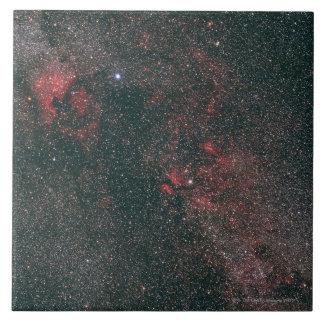 Nebula 6 large square tile