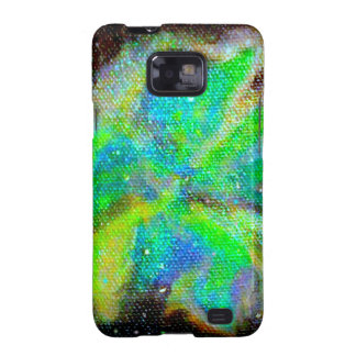 Nebula and Stardust Cosmic Space Scene Galaxy S2 Case