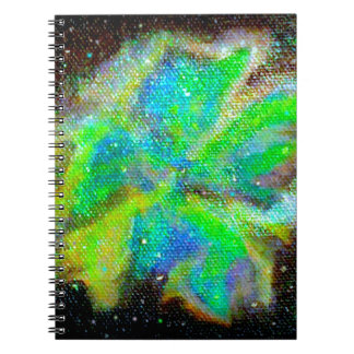 Nebula and Stardust Cosmic Space Scene Note Books