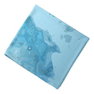 Nebula Bright Blue Bandana