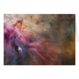 Nebula bright stars galaxy hipster geek cool space note card