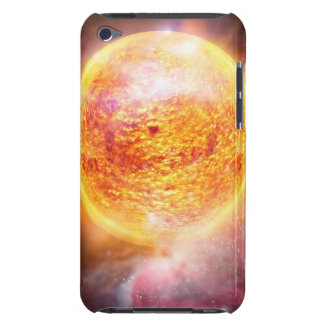 Nebula Burning Brightly iPod Touch Case