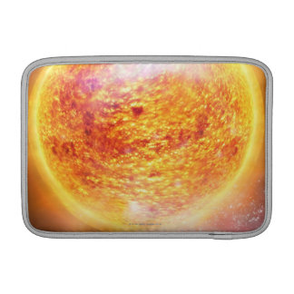 Nebula Burning Brightly Sleeves For MacBook Air