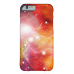 Nebula Fire Galaxy in Outer Space Barely There iPhone 6 Case