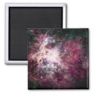 Nebula Formation in Outer Space Square Magnet