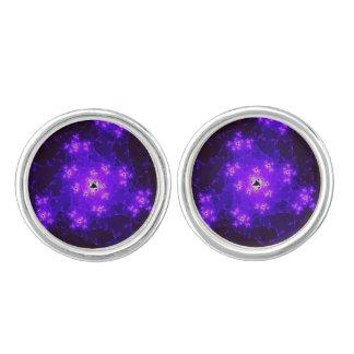 Nebula Fractal Cufflinks
