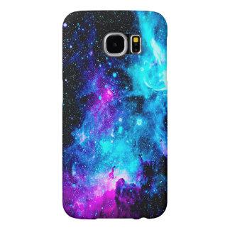 Nebula Galaxy Stars Colorful Girly Galaxy S6 Case