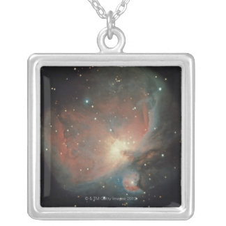 Nebula in Orion Silver Plated Necklace