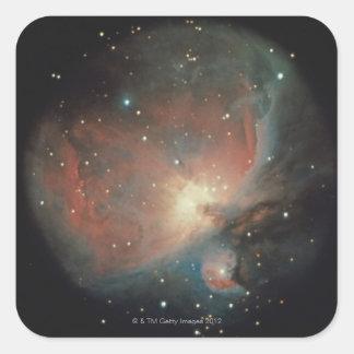 Nebula in Orion Square Sticker