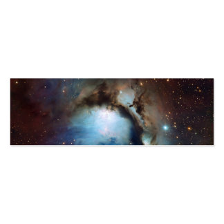 Nebula Messier 78 Space Astronomy Business Card Templates