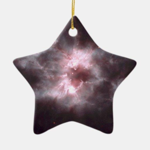 Nebula NGC 2440 Space Hubble Christmas Ornaments