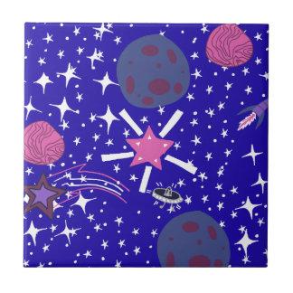 nebula small square tile