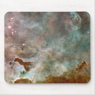 Nebula Space and Stars - NASA galaxy Hobble photo Mouse Pad