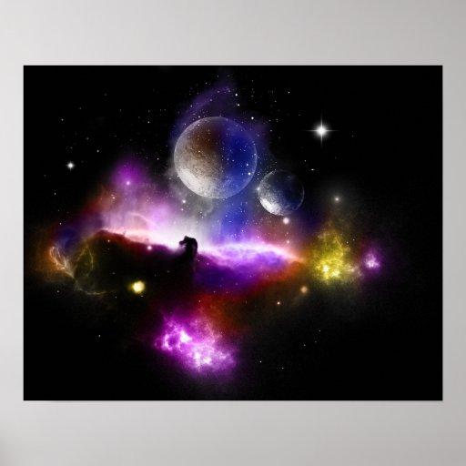 Nebula Space Poster