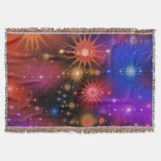 Nebula Star Clusters Throw Blanket