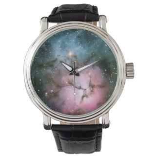 Nebula stars galaxy hipster geek cool nature space watch