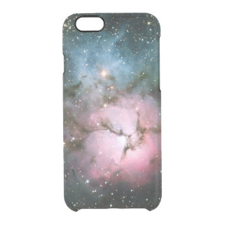 Nebula stars galaxy hipster geek cool space scienc clear iPhone 6/6S case