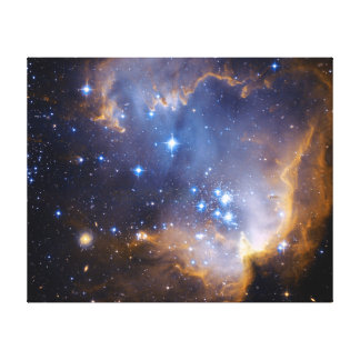 Nebula Stars Galaxy Stretched Canvas Prints