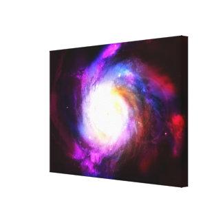 Nebula wonderful and beautiful universe gallery wrapped canvas