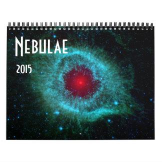 Nebulae 2 2015 Space Astronomy Calendar