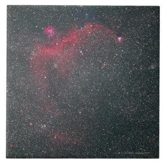 Nebulas Large Square Tile
