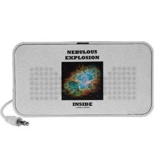 Nebulous Explosion Inside (Crab Nebula) iPod Speaker