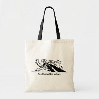 Nec Cupias Nec Metuas Budget Tote Bag