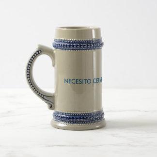 NECESITO CERVEZA COFFEE MUG