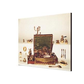 Necessaire belonging to Napoleon I Canvas Print