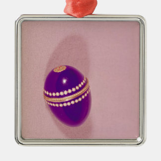 Necessaire in the shape of an egg, Sevres, 1775 Christmas Ornament