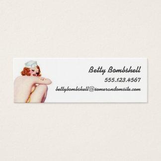 Necessary Evil Mini Business Card