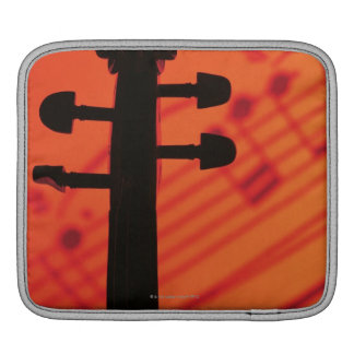 Neck of Violin iPad Sleeve