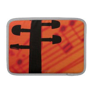 Neck of Violin MacBook Sleeve