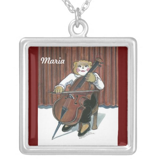 Necklace a for a Cello Player