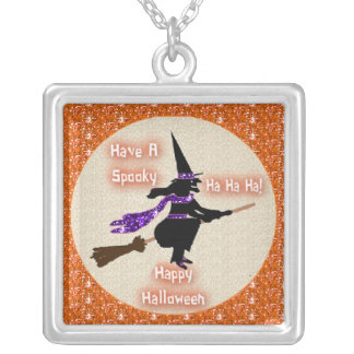 Necklace Broom Stick Witch